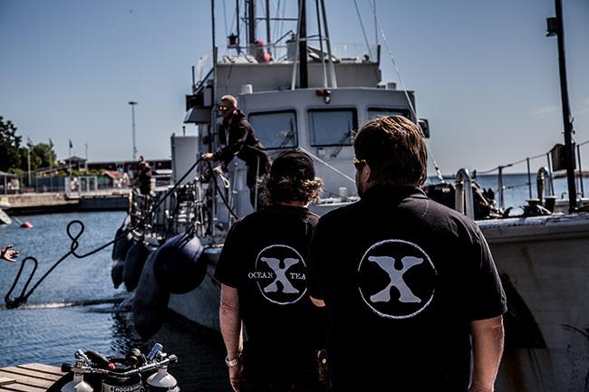 Nu kan Nyheter Idag berätta det Expressen missar om Ocean X Team. Foto: Roger Sahlström