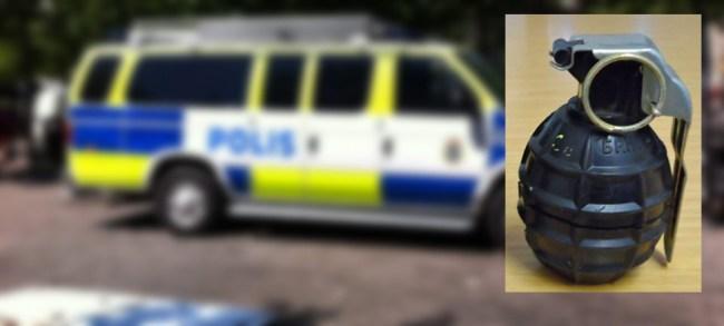 """Sverige """"extremt"""" – har haft 116 granatattacker på åtta år"""