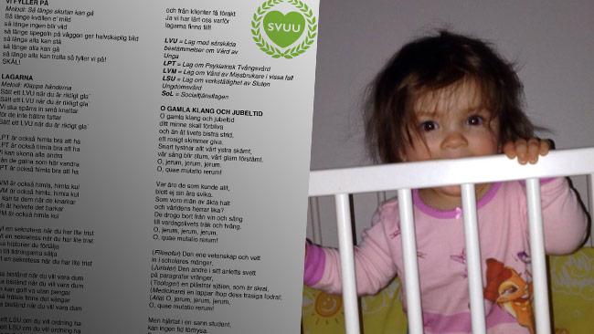 Ett smutsigt barn vittnar om obildade foraldrar