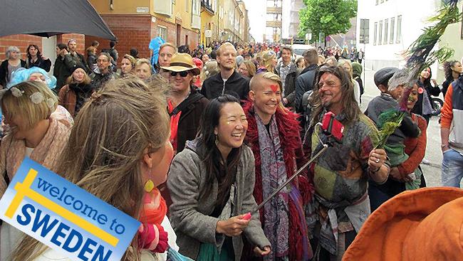 Demonstration för fred. Foto: Lars Jacob / Wikimedia Commons