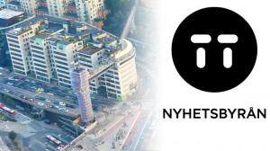 TT-redaktionen, där miraklet ska ha inträffat, är beläget vid slussen i Stockholm. Bilden är ett montage. Foto: Johan Fredrikssom / Wikimedia Commons