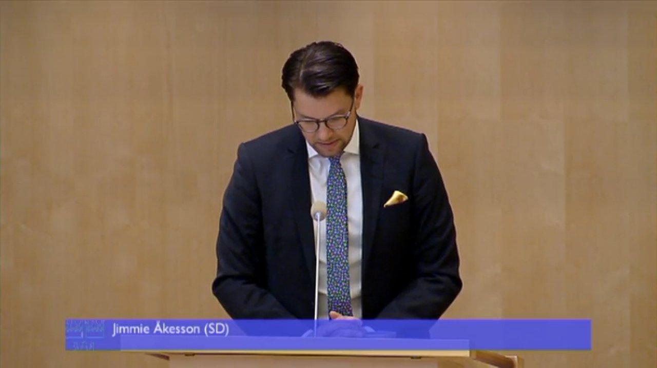 Foto: Riksdagen