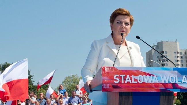 Beata Szydlo. Foto: Lag och Rätvisa