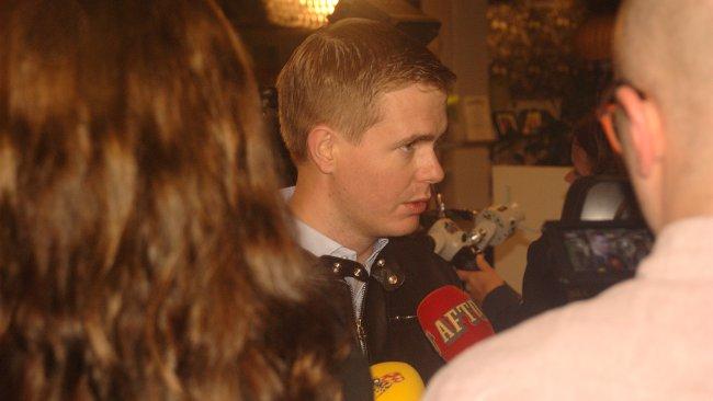 Gustav Fridolin. Foto: Mattias Albinsson