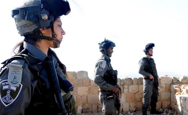 Israeliska poliser. Foto: Israeliska polisen