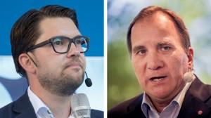 Sveriges företagare vill byta ut Stefan Löfven mot Jimmie Åkesson. Foto: Per Pettersson/Socialdemokraterna