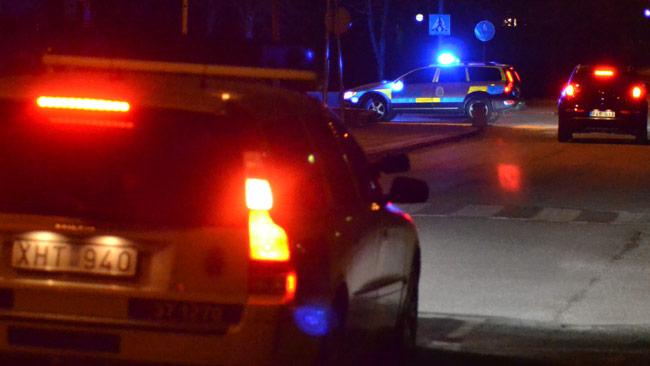Stockholmspolisen. Bilden är taget vid ett annat tillfälle. Foto: Chang Frick / Nyheter Idag