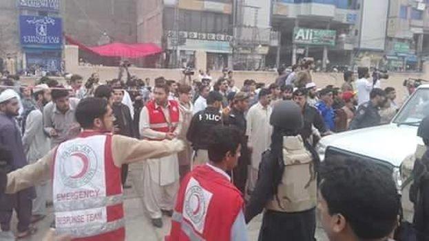 Röda Halvmånen hjälper till i Afghanistan. Foto: Internationella Röda Korset