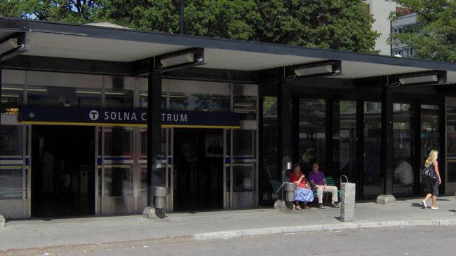 Solna centrum. Foto: Wikimedia Commons