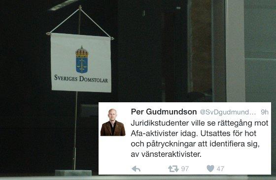 Foto: Mattias Albinsson/Twitter