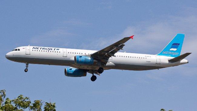 Detta Airbus A321 kraschade idag på morgonen. Foto: Filippo Novello/jetphotos.net