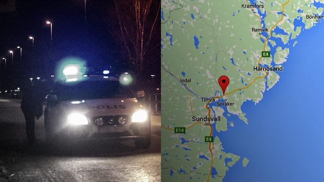 """Polisen fick plocka upp en tiggare som blev dumpad på väg E4 av """"chefen"""".  Bilden är tagen vid ett annat tillfälle. Foto: Chang Frick samt Faksimil Google Maps"""
