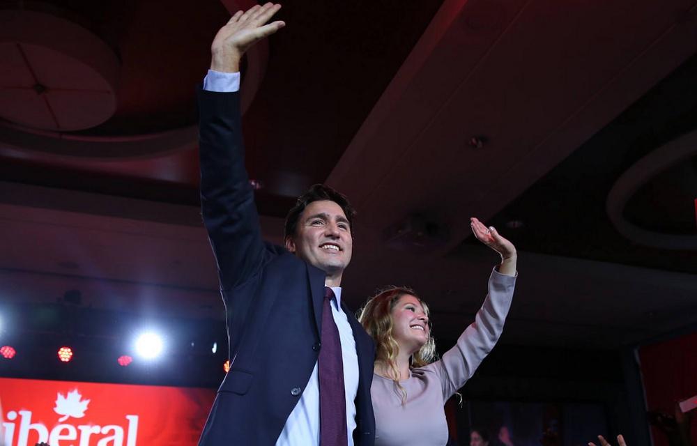 Justin och Sophie Trudeau. Foto: Renegade98