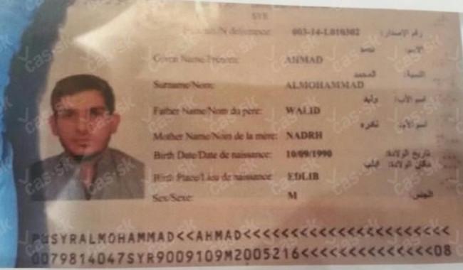 25-årige Ahmad. Foto: cas.sk