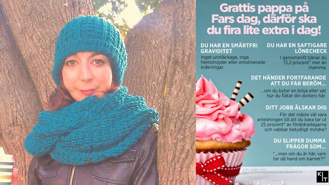 Anahita ger svar på tal på Facebook. Foto: Privat / kit.se