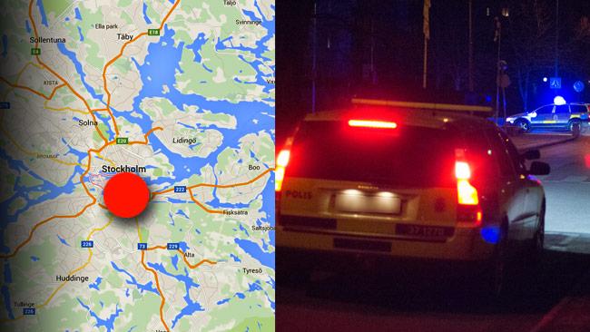 Dödsskriken på Södermalm visade sig vara kärleksskrik. Polisbilen på bilden har inget med händelsen att göra. Foto: Google Maps / Nyheter Idag