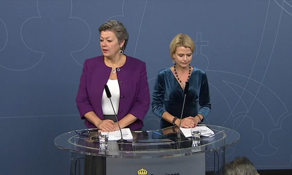 Ylva Johansson och Åsa Regnér. Foto: Regeringen