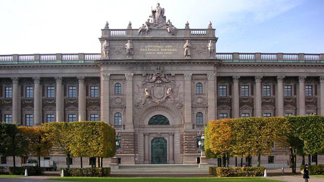 Sveriges riksdag. Foto: Holger Ellgaard / Wikimedia Commons