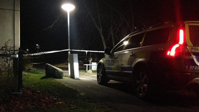 Det var i Norsborg mannen påträffades. Foto: Nyheter Idag
