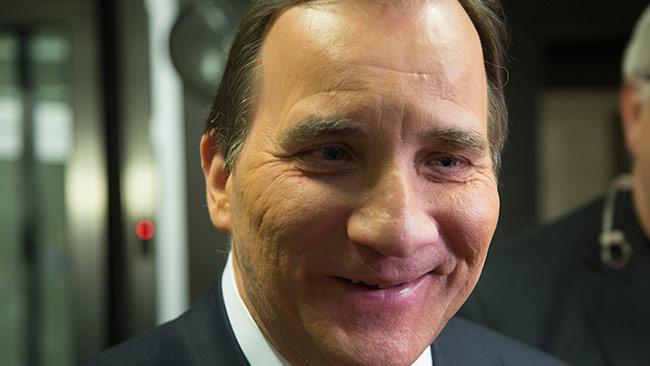 Statsminister Stefan Löfven. Foto: Nyheter Idag