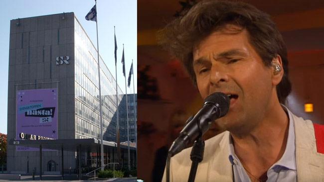 Sveriges Radio tänker spela Strömstedts politiska låt. Foto: Ellgaard Holger, Wikimedia Commons samt Faksimil Youtube