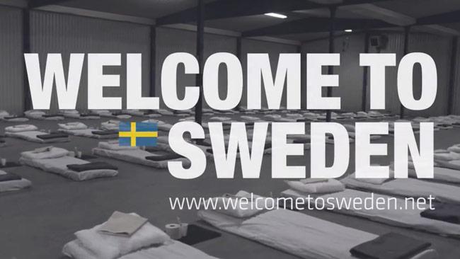 Bild ur Sverigedemokraternas kampanjvideo på Facebook.