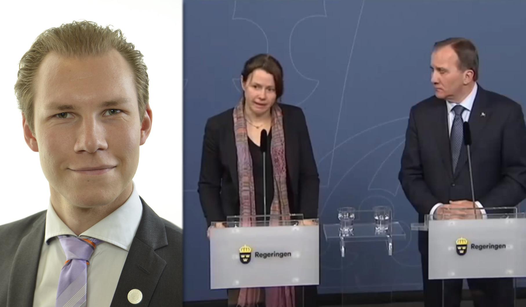 Markus Wiechel är riksdagsledamot för Sverigedemokraterna. Foto: Riksdagen/Regeringen