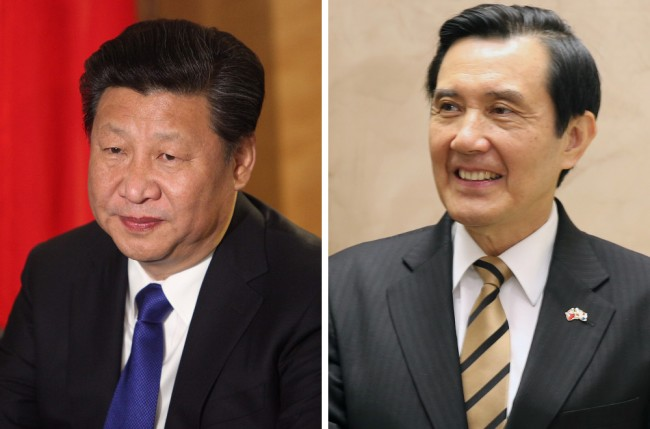 Xi Jinping och Ma Ying-jeou träffas på lördag. Foto: FCO/Luis Burdie