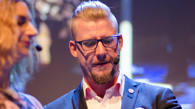Linus Bylund. Foto: Nyheter Idag