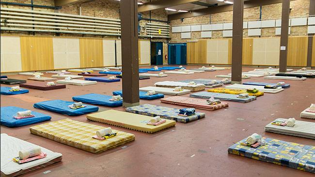 Detta är vad som väntar många migranter som kommer till Sverige. Foto: Pressbild Migrationsverket