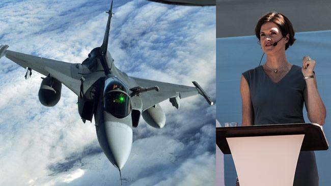 Alliansen vill skicka JAS-plan i kampen mot ISIS. Foto: Wikimedia Commons samt Nyheter Idag