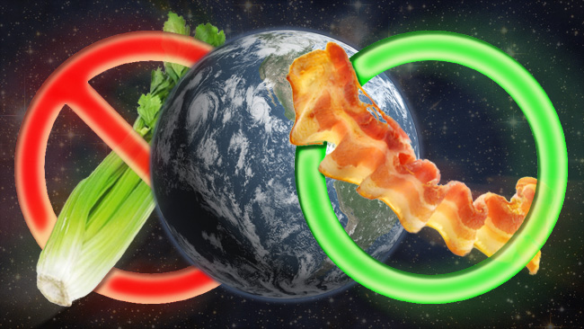 En dietistisk klimatmodell. Illustration: Nyheter Idag