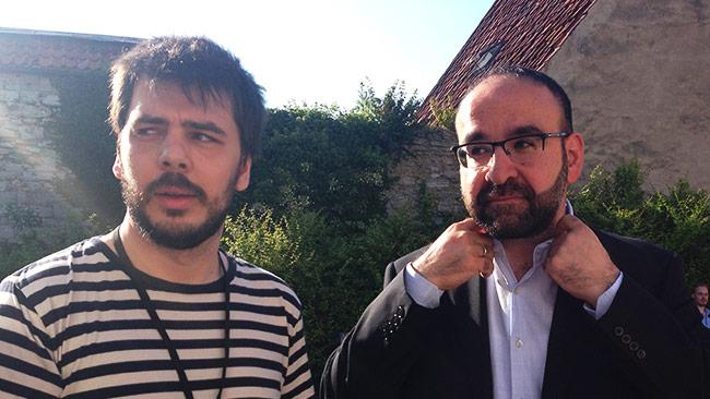 Chang Frick (t.v) och Mehmet Kaplan (t.h) Foto: Nyheter Idag