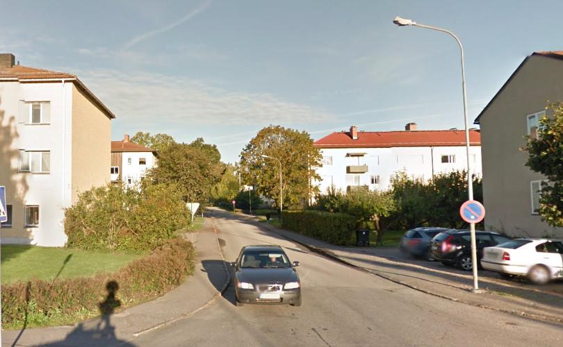 Kapellvägen i Finspång. Foto: Google Maps