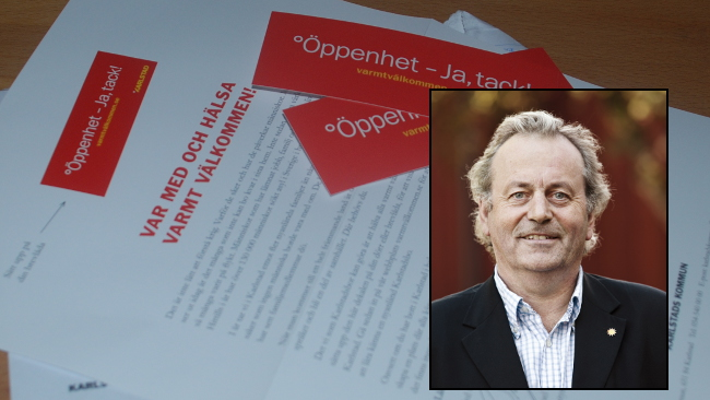 Per-Samuel Nissers (M) är kommunalråd i Karlstad. Foto: Nyheter Idag/Pressbild