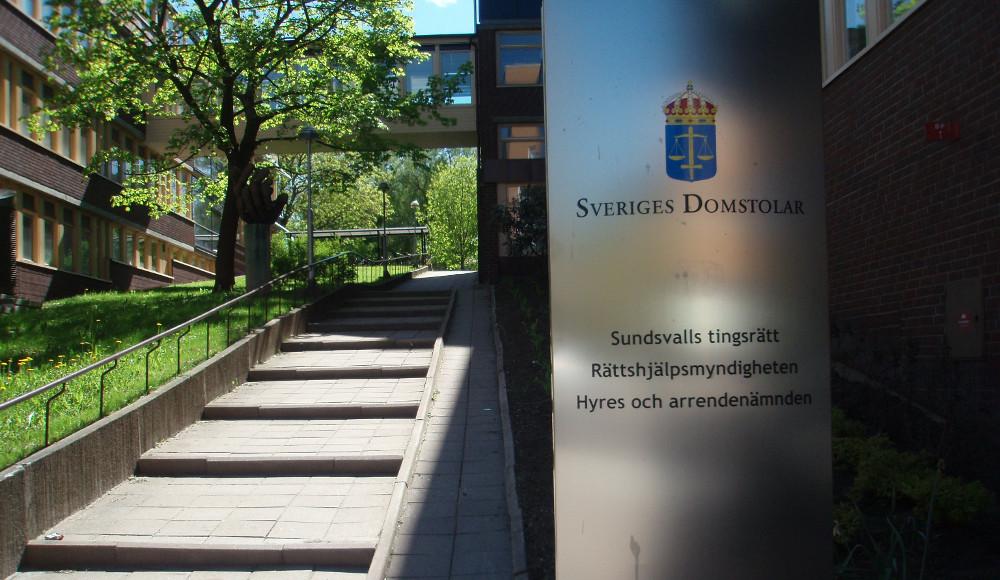 Foto: Sundsvalls tingsrätt