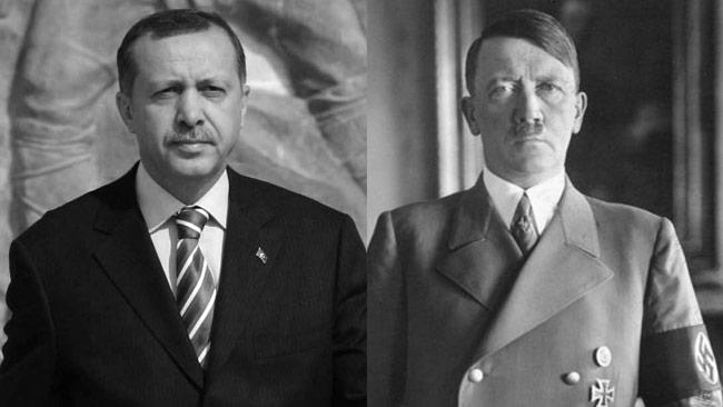 Erdogan lyfter fram Hitlers Tyskland som ett bra exempel. Foto: Wikimedia Commons