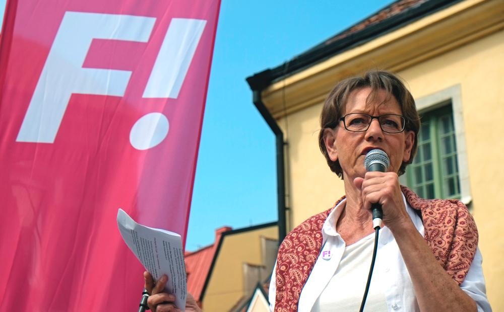 Gudrun Schyman. Foto: News Oresund
