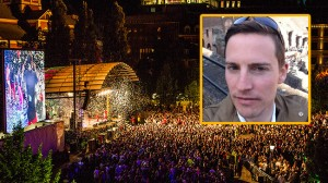 Ilan Sadé kommenterar hela affären med DN och händelserna i Kungsträdgården. Foto: Privat samt CC Stockholms Stad