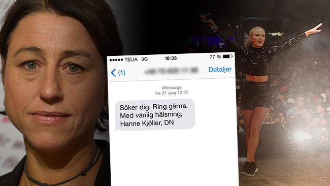 Här är SMSet från DN till den polisinspektör som berättade om allt som hände i Kungsträdgården. Foto: Bengt Oberger / Wikimedia Commons samt pressbild / CC Stockholms stad