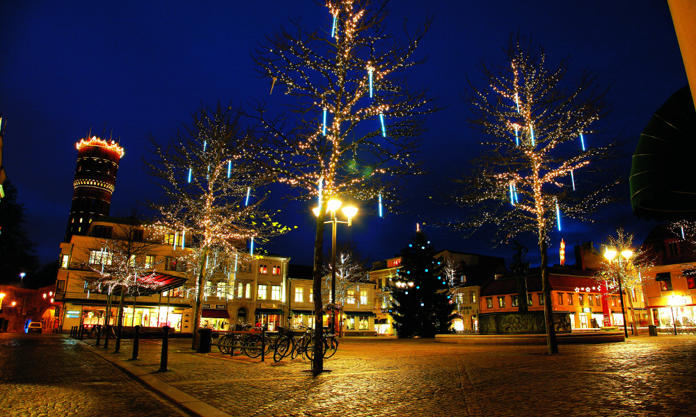 Larmtorget i Kalmar. Foto: Kalmar kommun