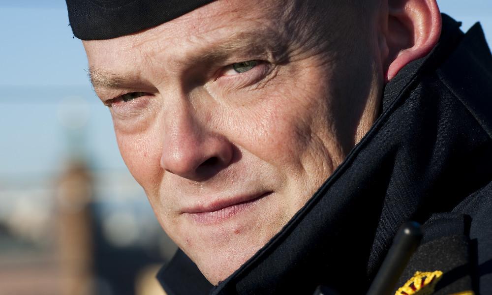 Peter Ågren är chef för Södermalmspolisen. Foto: Polisen