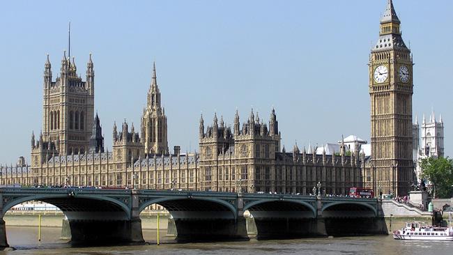 Brittiska parlamentet. Foto: Wikimedia