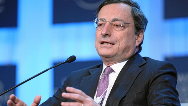 ECB-ordföranden Mario Draghi. Foto: Wikimedia