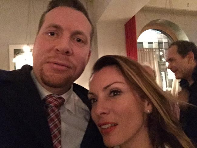 """Enligt Friberg försökte Pascalidou göra ett gott intryck och förklara att hon inte är """"politiskt korrekt"""". Foto: Privat"""