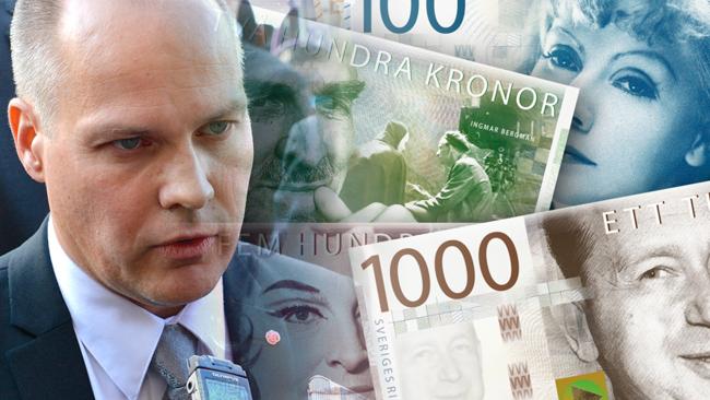 Justitieminister Morgan Johansson. Foto: Wikimedia & Riksbanken