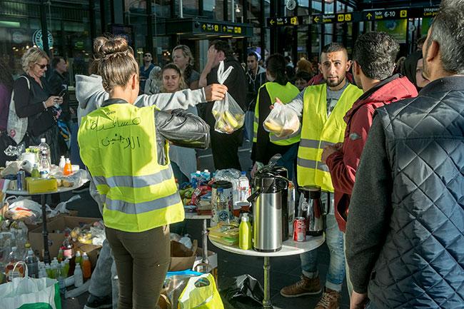 Norska UD-topparna: Flyktingarna här för att stanna, men gränsen har nåtts för svenska medborgare och myndigheter Foto: News Oresund, Johan Wessman