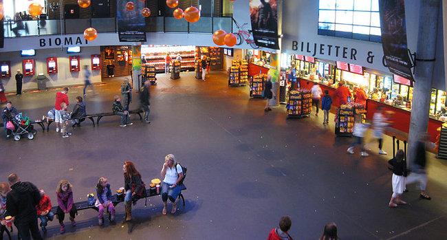 Vilt slagsmål utspelade sig på biografen Bergakungen i Göteborg under kvällen. Foto: Wikimedia