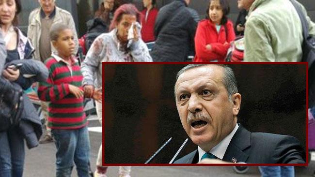 """Turkiets president Erdogan säger att europeiska myndigheter är """"inkapabla"""" att värja terroristhotet, särskilt som man inte inser PKK:s farlighet. Foto: Youtube/kollage"""