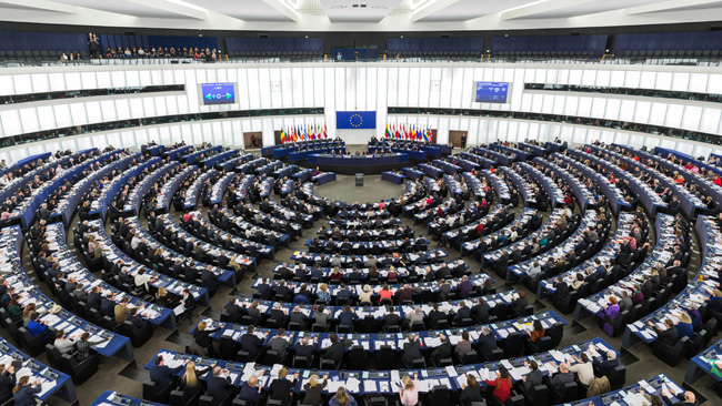 Europaparlamentet i Strasbourg   Foto: Wikimedia